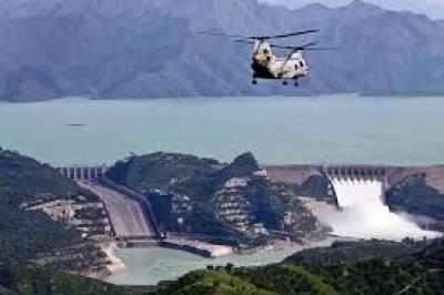 Tarbela Dam: power generation level reaches 3371 MW ,july 29, 2020