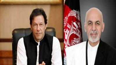 PM Imran Khan, Afghan President Ashraf Ghani discuss peace process in Afghanistan August 04, 2020