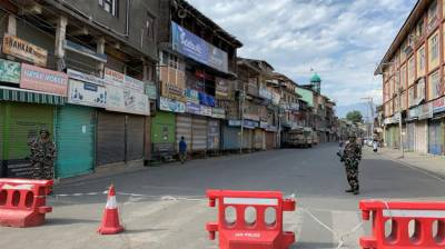 Complete shutdown being observed today on Yaum-e-Istehsal in IIOJ&K August 05, 2020