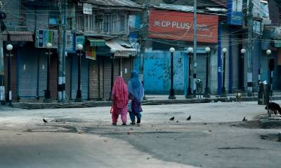 AI urges Modi govt to immediately stop clampdown in Occupied Kashmir August 06, 2020