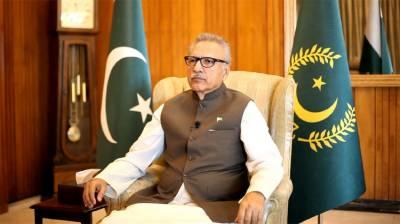 Pakistan remains steadfast in peaceful Kashmir resolution: President August 06, 2020