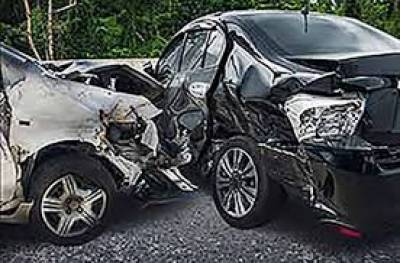 Five people killed as two cars collide head-on at Indus Highway Aug 07, 2020