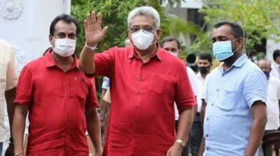 Sri Lankan President Gotabaya Rajapaksa declares victory in country's parliamentary election August 07, 2020