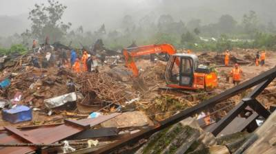 24 killed, 40 trapped in a major landslide in India August 08, 2020