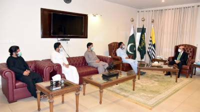 AJK President says nation stands with armed forces to defend motherland August 08, 2020