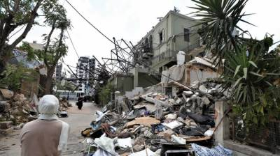 Int'l donors pledge €250m in aid for Lebanon after explosion which devastated Beirut August 10, 2020