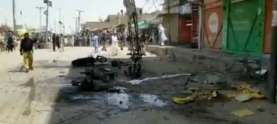 Nine injured in Chaman blast August 10, 2020