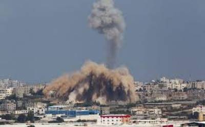 Israel attacks, sanctions Gaza over ballon fire bombs Aug 13, 2020