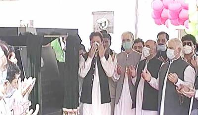 PM inaugurates flagship project of govt, Peshawar Bus Rapid Transit August 13, 2020