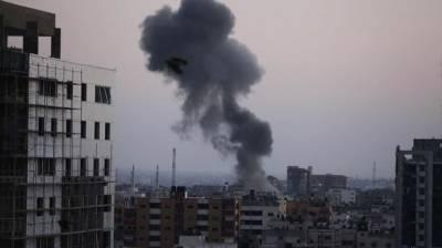 Israeli warplanes strike Gaza August 14, 2020