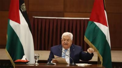 Palestinian President condemns Israel-UAE deal August 14, 2020