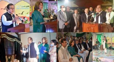 Information Minister unveils Marconi Transmitter Memorial at Radio Pakistan August 15, 2020