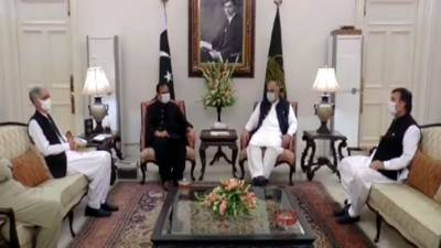 NA Speakers, Defense Minister & CM Punjab discuss political situation August 18, 2020