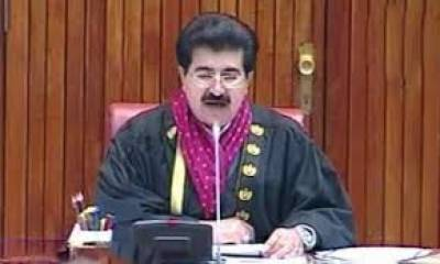 Sanjrani refers issue of FBR notice to Palestinian envoy to committee , Aug 18, 2020