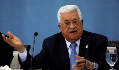 Palestinian President calls on all Arab countries to abide by Arab Peace Initiative August 19, 2020