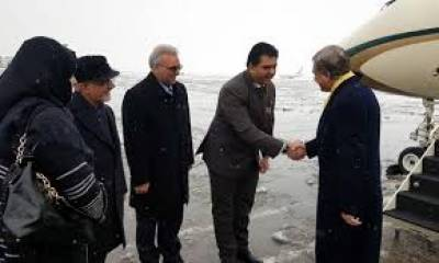 Qureshi arrives in Hainan to attend China-Pakistan FMs Strategic Dialogue, Aug 20, 2020