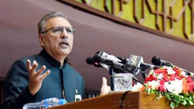 President urges world to take notice of military siege in IIOJ&K August 21, 2020