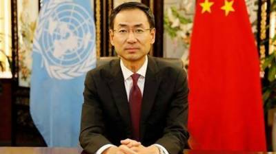 Chinese envoy urges int'l community to help Iraq fight terrorism August 27, 2020