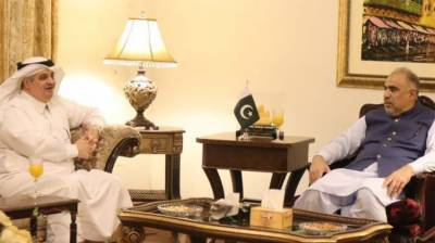 Saudi Ambassador reaffirms all out support for socio-economic development of Pakistan August 27, 2020