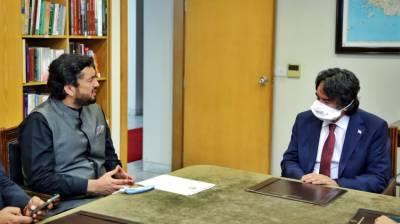 Shehryar Afridi lauds bold stance of Turkish President on Kashmir August 27, 2020