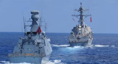 Turkish, US navies hold maritime exercise August 27, 2020