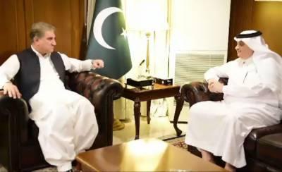 Pakistan FM Shah Mahmood Qureshi held important meeting with Saudi Ambassador