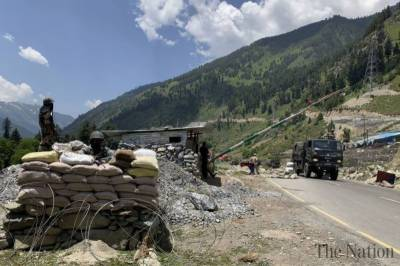 -Beijing China gives stern warning to India over Military buildup in Ladakh