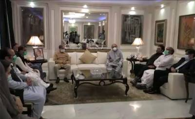Shahbaz Sharif conveys special message of Nawaz Sharif to former President Asif Zardari