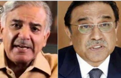 Shahbaz Sharif meets old friend Asif Ali Zardari in KARACHI