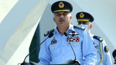 PAF Chief gives a stern message to India over martyrs day ceremony
