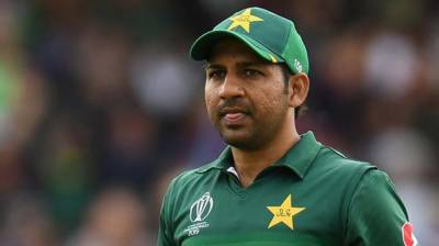 Former Pakistani Skipper Sarfraz Ahmed reacts over the PCB action on the 3rd T20 reservations