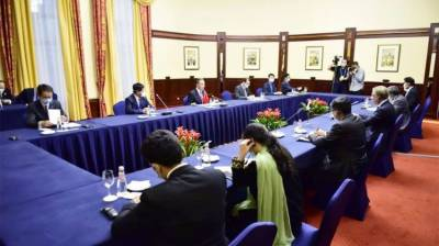 Pakistan FM Shah Mehmood Qureshi held important meeting with Chinese counterpart in Moscow