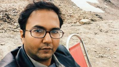 Bilal Farooqi, Karachi journalist picked up by plain clothes men from home