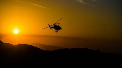 Military Helicopter crashes, No Reports of casualties