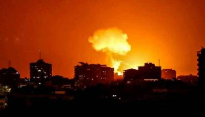 Israeli Jets Bonn Gaza a day after peace deal with UAE