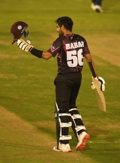Pakistani Skipper Babar Azam makes magnificent innings in English County T20 Blast