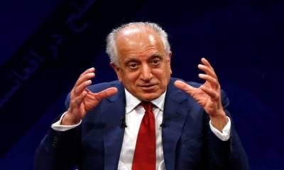 US top envoy Zalmay Khalilzad makes new claims over Afghan peace talks