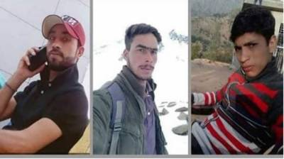 Three Kashmiri youth martyred by Indian troops in worst act of state terrorism