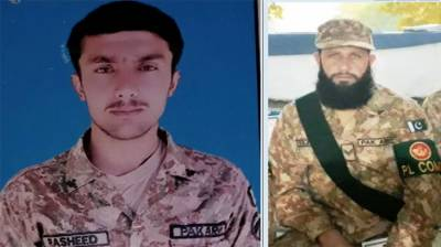 Pakistan Army soldiers martyred in exchange of fire with terrorists in North Waziristan