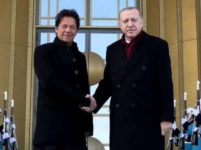 Pakistani PM Imran Khan's special message for the Turkish President Tayyip Erdogan