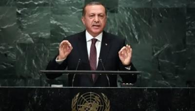 Turkish President Tayyip Erdogan strongly raises Kashmir issue at the UN