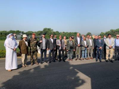 Delegation of Foreign diplomats and defence attaches of 24 countries visit LoC