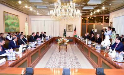 Pakistani FM SM Qureshi held important meeting with Afghan High Council head Abdullah Abdullah