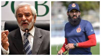 PCB Chief asks Headcoach Misbah ul Huq to relinquish one of his posts