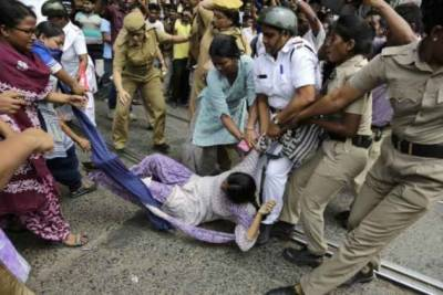 India declared as one of the most dangerous country in World for women with a rape case every 15 minutes