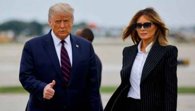US President Donald Trump and First Lady tested positive for the Coronavirus