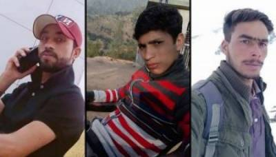 Indian Army martyred three Kashmiris in a fake encounter, bodies exhumed by family members