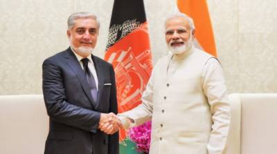 Afghanistan top peace negotiator held meeting with Indian PM Modi