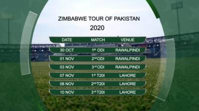 Pakistan Vs Zimbabwe series schedule revised by PCB