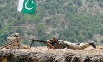 Pakistani soldier martyred in a cross border attack from Afghanistan